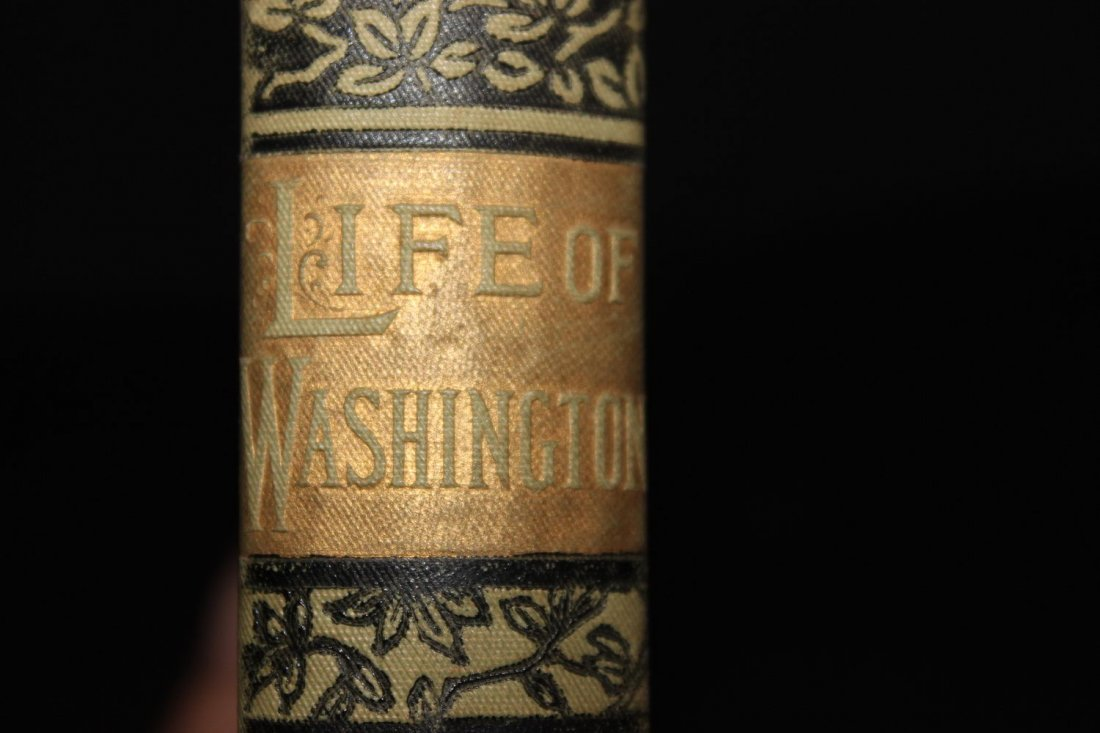 THE LIFE OF GEORGE WASHINGTON 1892 GOOD CONDITION 207 - 3