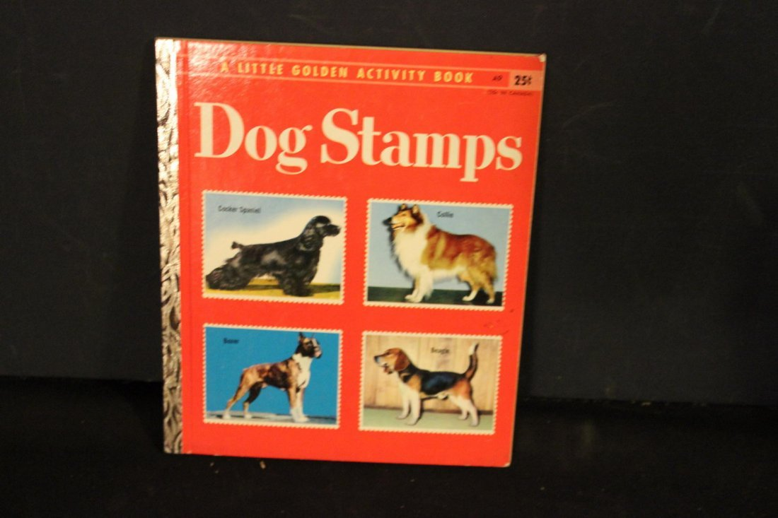 UNUSED AND COMPLETE DAVY CROCKETT STAMP BOOK NEAR MINT