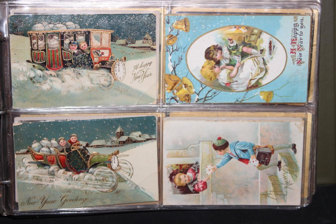 89 GREAT POSTCARDS IN EXCELLENT CONDITION VERY COLORFUL - 4