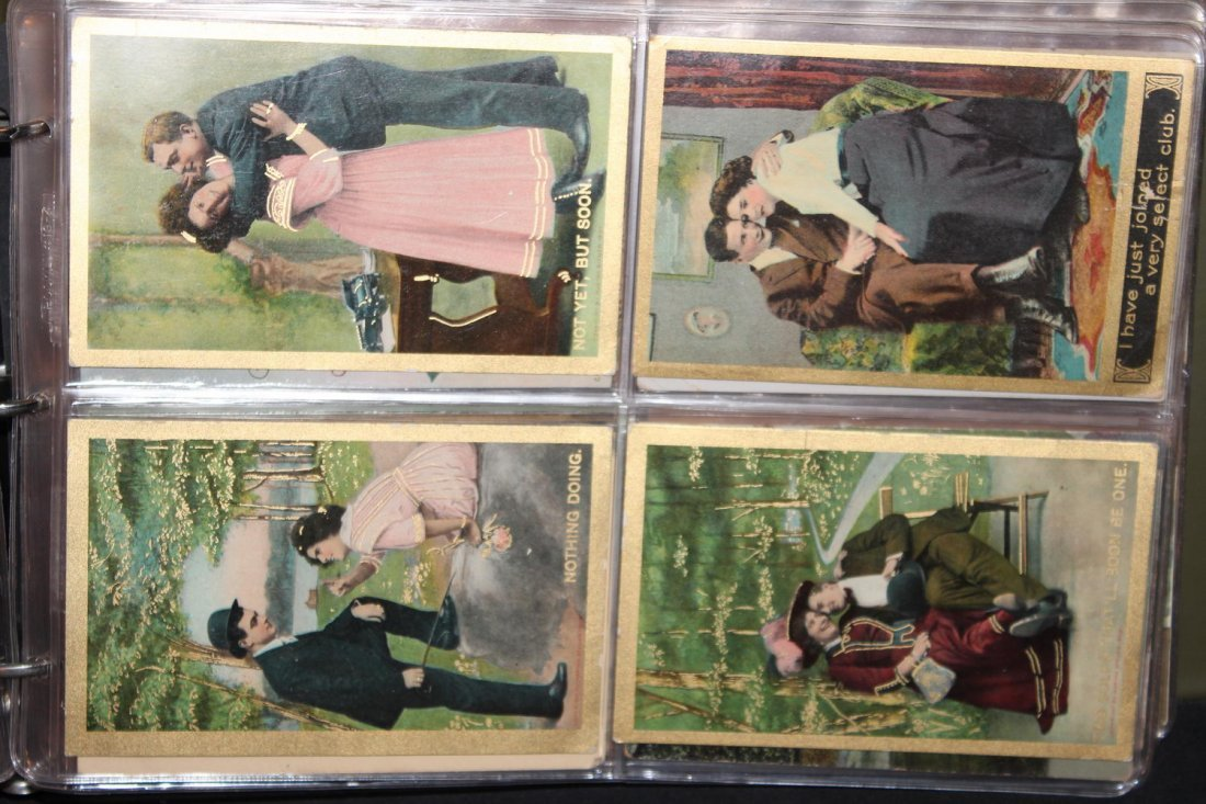 89 GREAT POSTCARDS IN EXCELLENT CONDITION VERY COLORFUL - 5