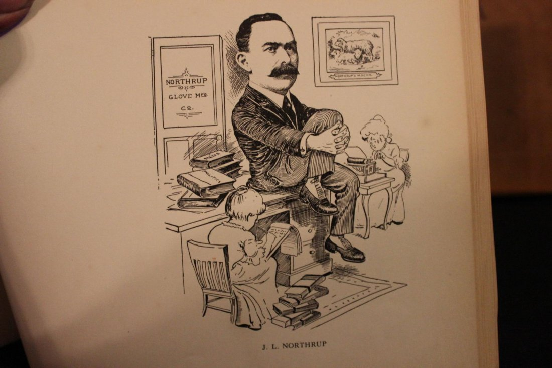 JUST FOR FUN A BOOK OF CARICATURES - 5