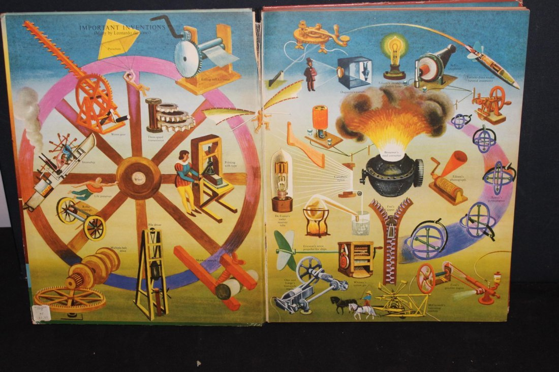 2 NICE CHILDREN'S BOOKS THE GOLDEN BOOK ALMANAC AND - 2