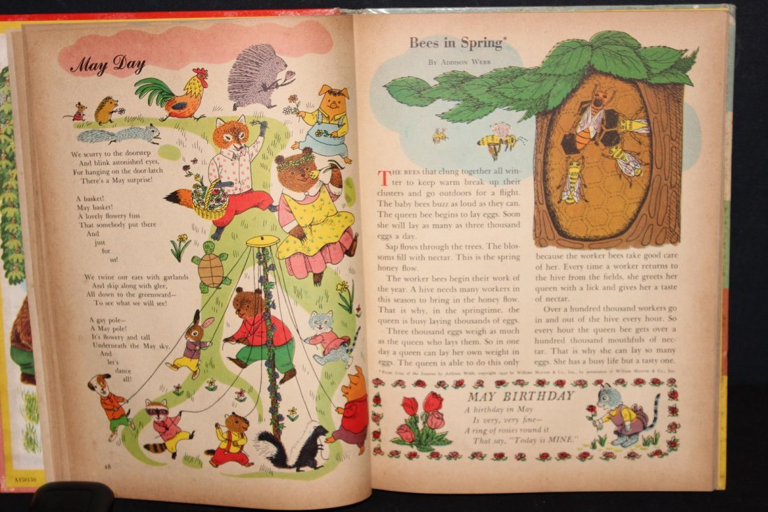 2 NICE CHILDREN'S BOOKS THE GOLDEN BOOK ALMANAC AND - 6
