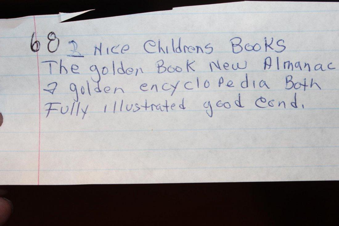 2 NICE CHILDREN'S BOOKS THE GOLDEN BOOK ALMANAC AND - 9