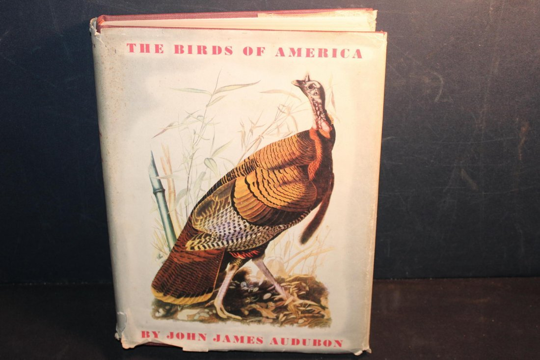 BIRDS OF AMERICA BY JOHN J AUDUBON 1944 ILLUSTRATED