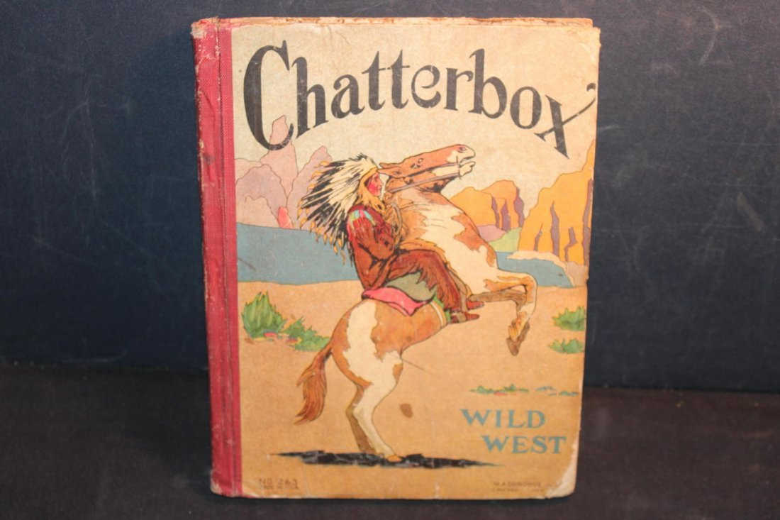 CHATTERBOX A GREAT LOOK AT THE WILD WEST WRITTEN BY