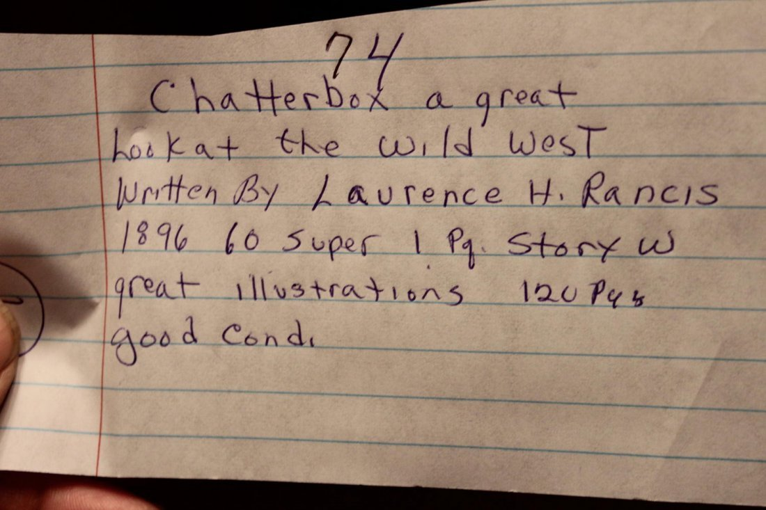 CHATTERBOX A GREAT LOOK AT THE WILD WEST WRITTEN BY - 8