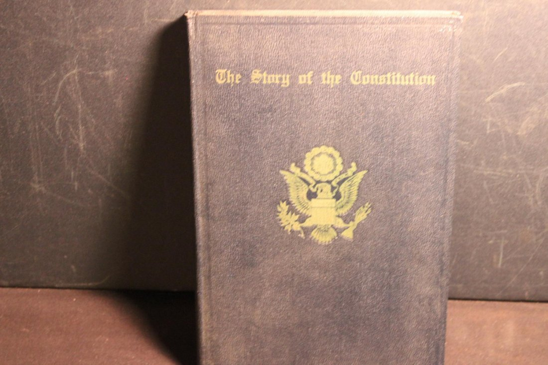 THE STORY OF THE U.S. CONSTITUTION 1937 EXCELLENT