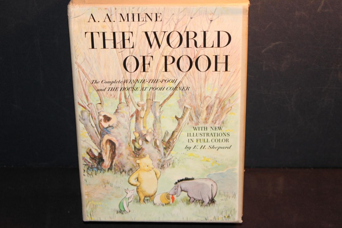 2 SUPER LIKE NEW CONDITION THE WORLD OF POOH WORLD OF - 9