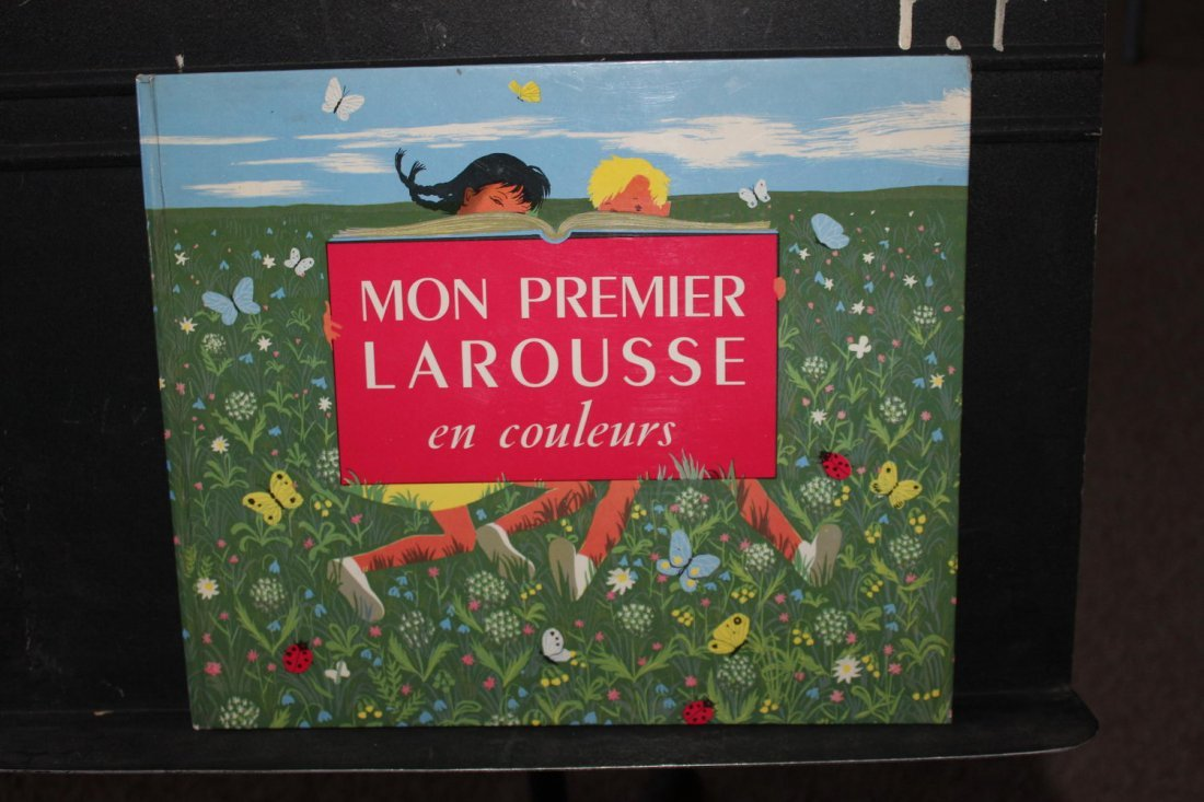 ANOTHER FRENCH BOOK MON PREMIER LAROUSE EN COULEURS