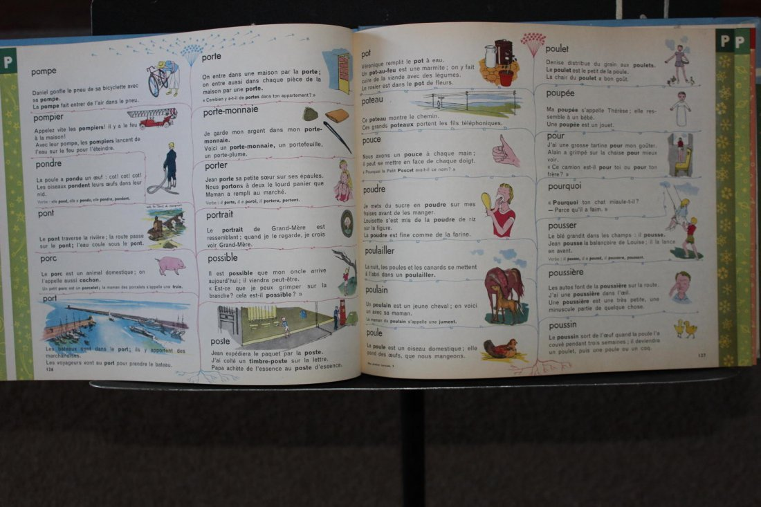 ANOTHER FRENCH BOOK MON PREMIER LAROUSE EN COULEURS - 4