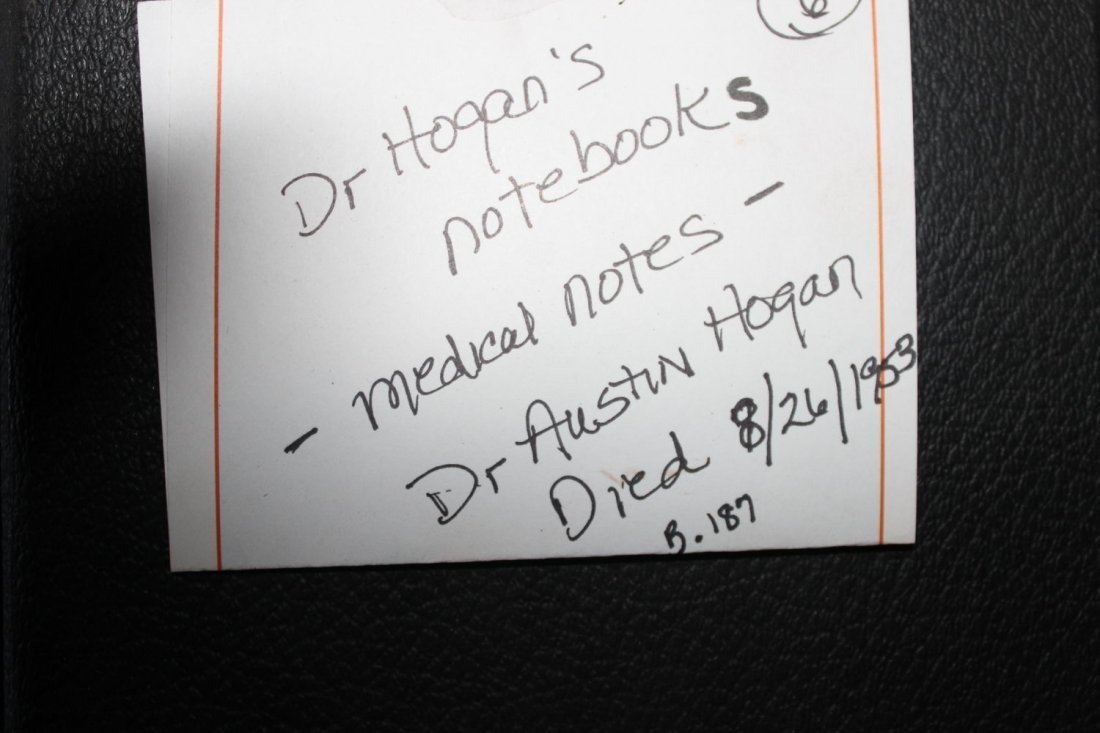 MOST UNIQUE OFFERING OF MEDICAL NOTES OF DR. AUSTIN - 2