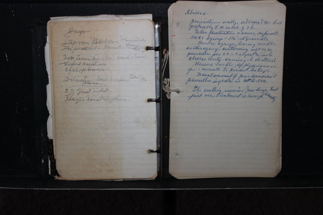 MOST UNIQUE OFFERING OF MEDICAL NOTES OF DR. AUSTIN - 8