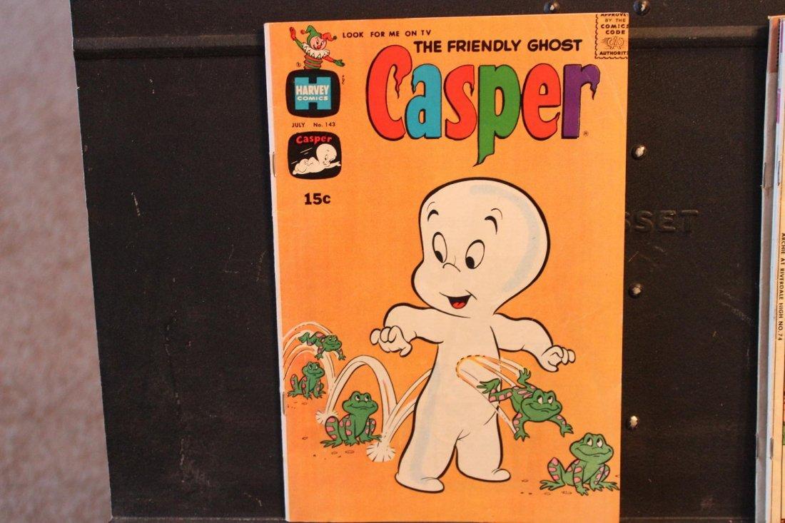 4 COLLECTIBLE COMICS CASPER 1970 WOODY WOODPECKER 1958- - 5
