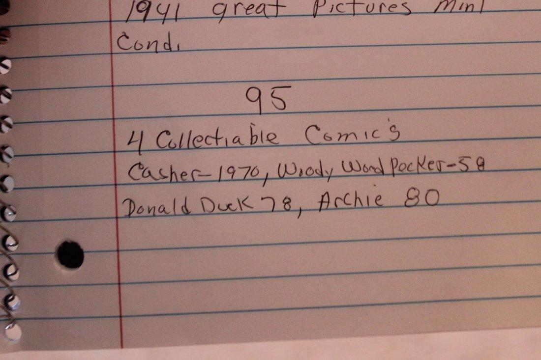 4 COLLECTIBLE COMICS CASPER 1970 WOODY WOODPECKER 1958- - 6