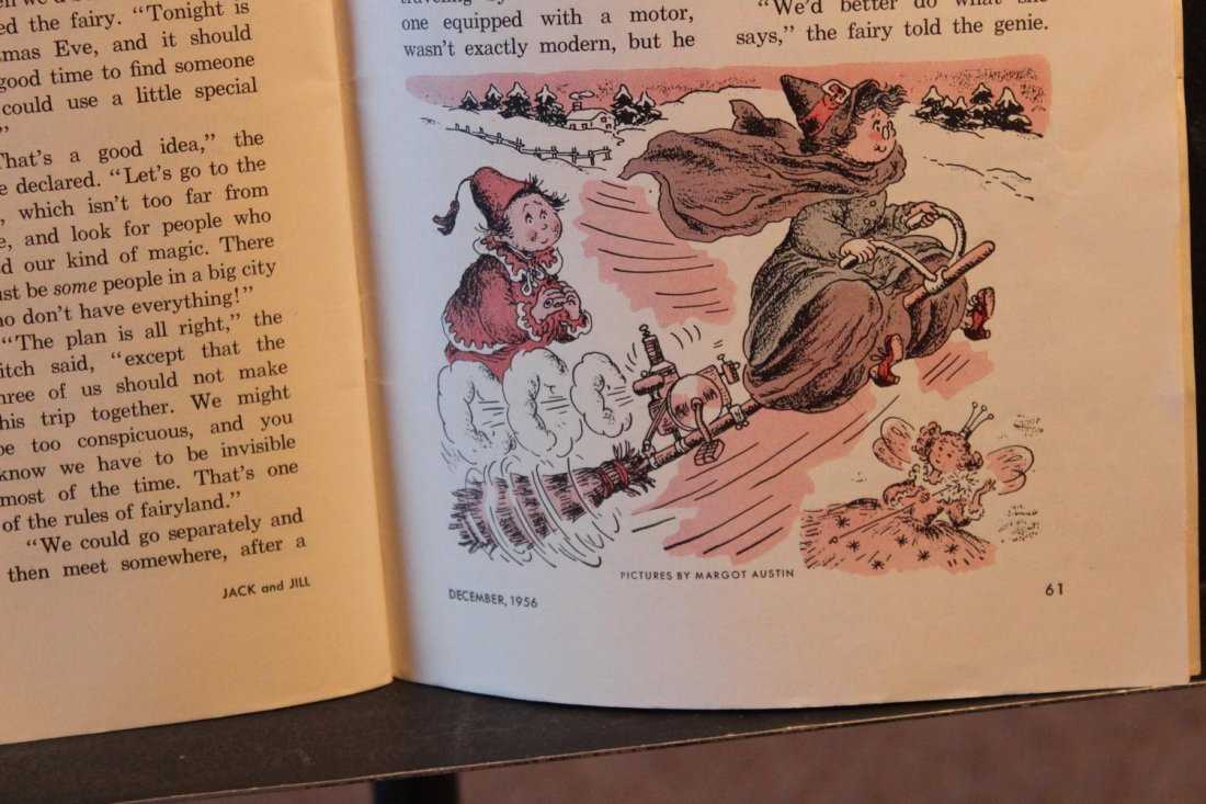 JACK AND JILL DECEMBER 1956 NEAR MINT CONDITION - 3