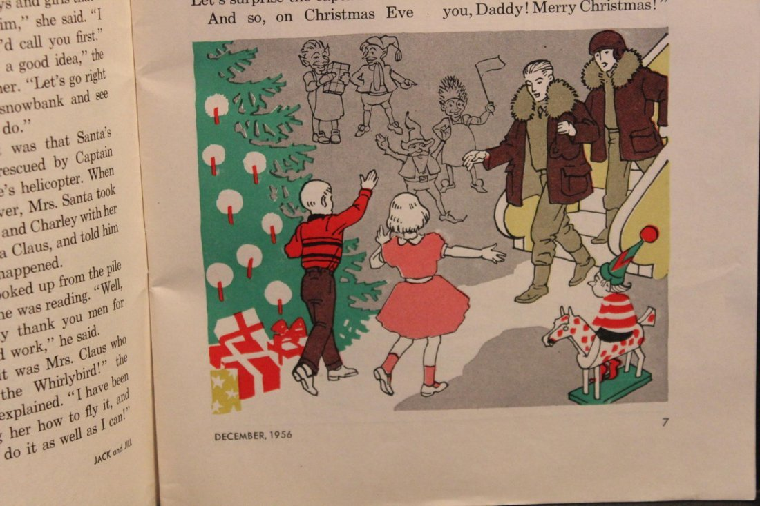 JACK AND JILL DECEMBER 1956 NEAR MINT CONDITION - 5