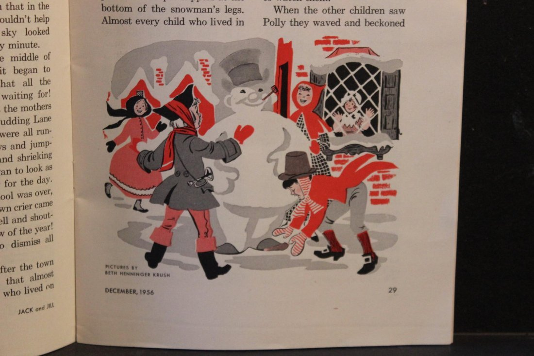 JACK AND JILL DECEMBER 1956 NEAR MINT CONDITION - 7