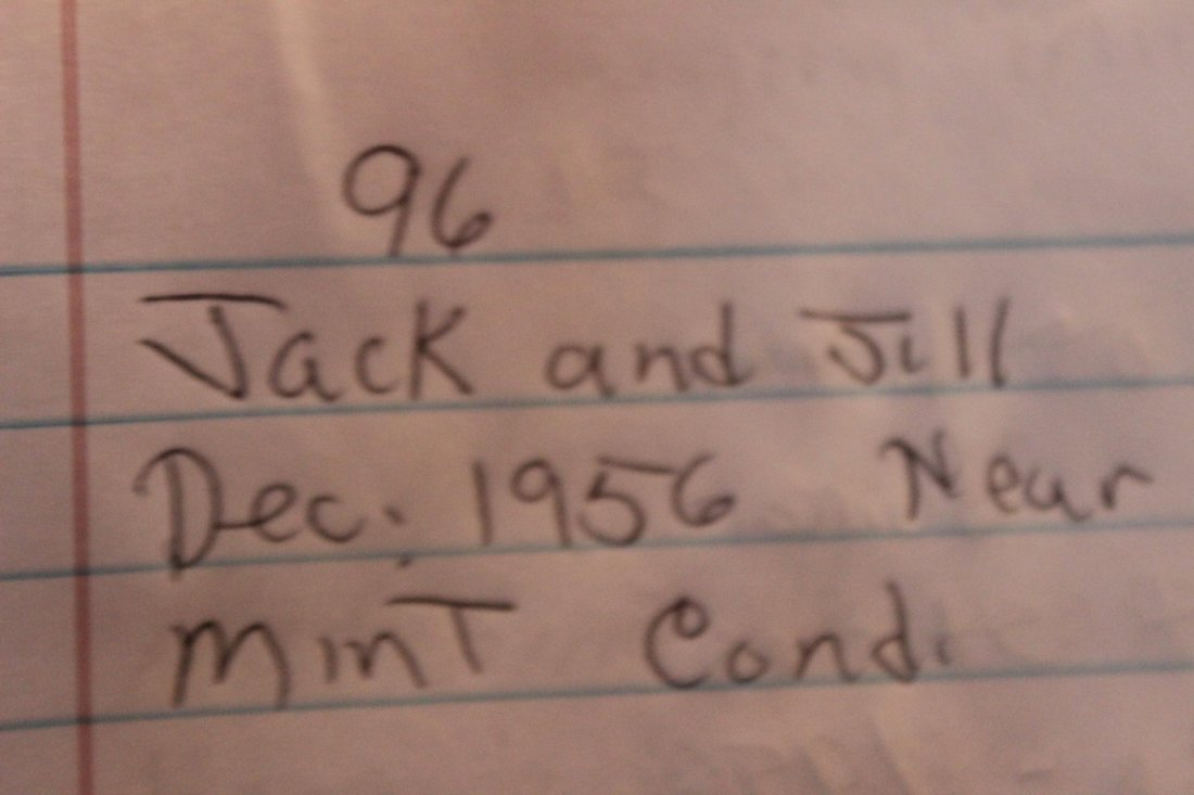 JACK AND JILL DECEMBER 1956 NEAR MINT CONDITION - 8
