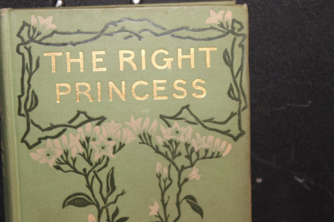 THE RIGHT PRINCESS BY CLARA LOUISE BURNHAM 1904 VERY - 2