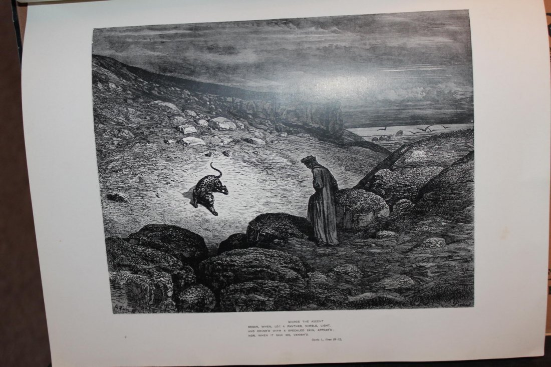 4 ISSUES OF DANTE ILLUSTRATED BY GUSTAV DDORE - PART - 3