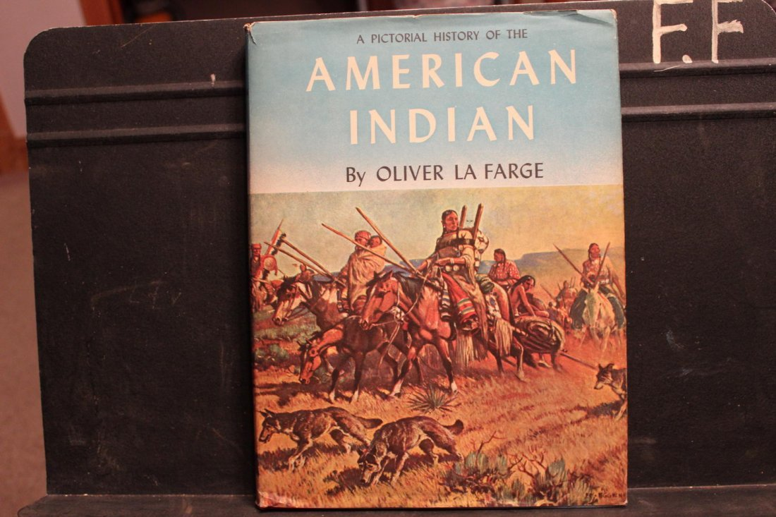 FULLY ILLUSTRATED HISTORY OF AMERICAN INDIANS BY OLIVER