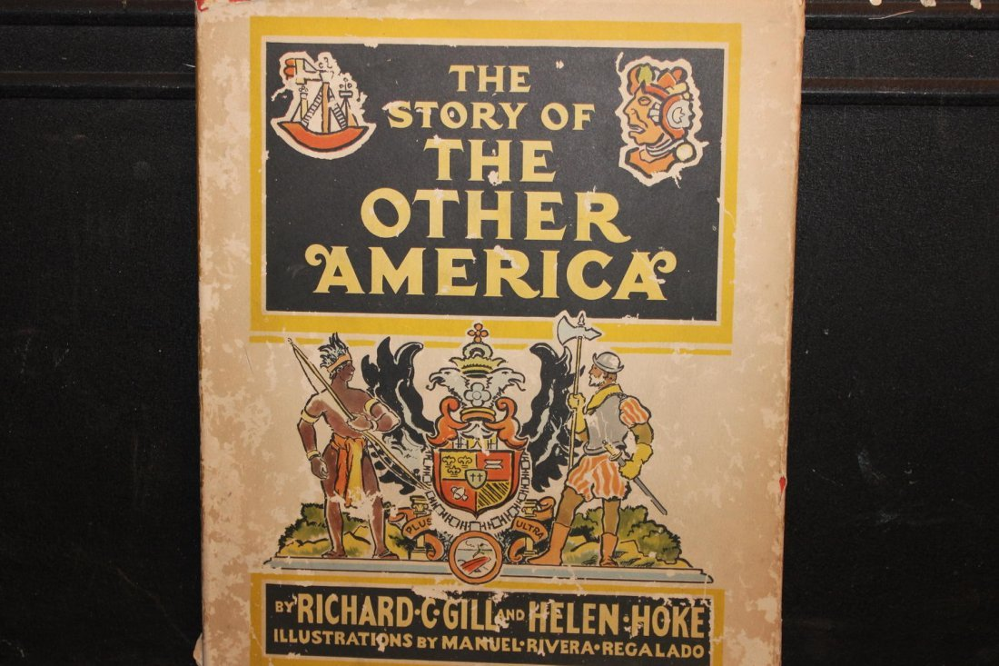 THE STORY OF THE OTHER AMERICA DUST JACKET ROUGH BOOK