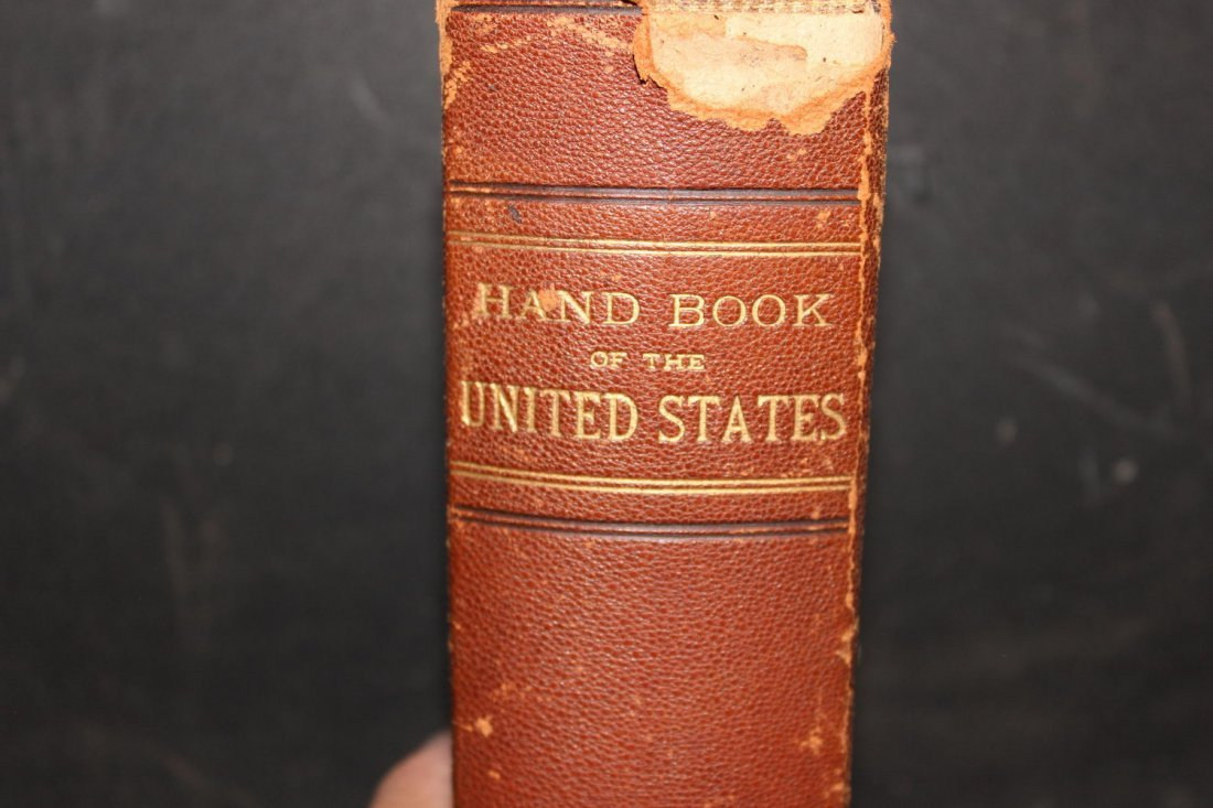 KINGS HANDBOOK OF THE UNITED STATES BY MOSES KING OVER - 2