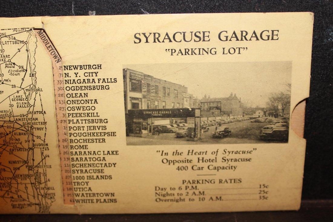 GREAT COLLECTIBLE SYRACUSE GARAGE MILEAGE INDICATOR - 2