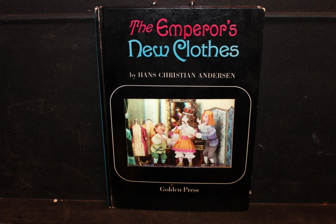 THE EMPEROR'S NEW CLOTHES BY HANS CHRISTIAN ANDERSON