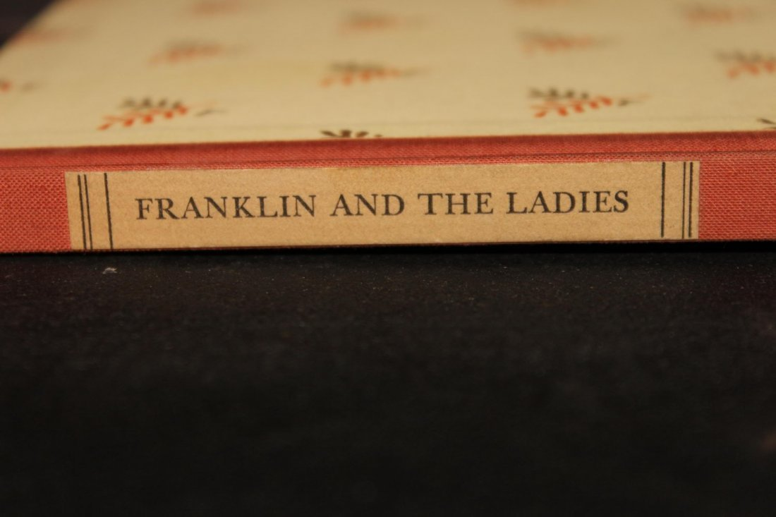 DR. BENJAMIN FRANKLIN AND THE LADIES 1939 MINT - 2