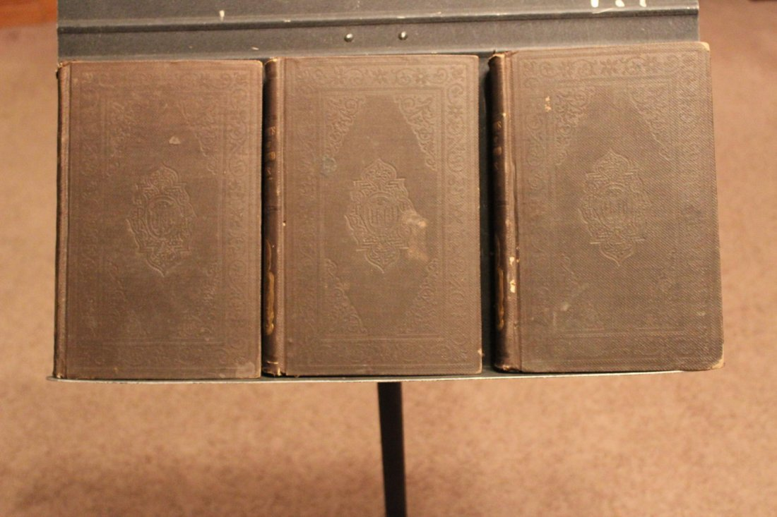 3 VOLUME SET OF THE STREET OF THE UNITED STATES FROM