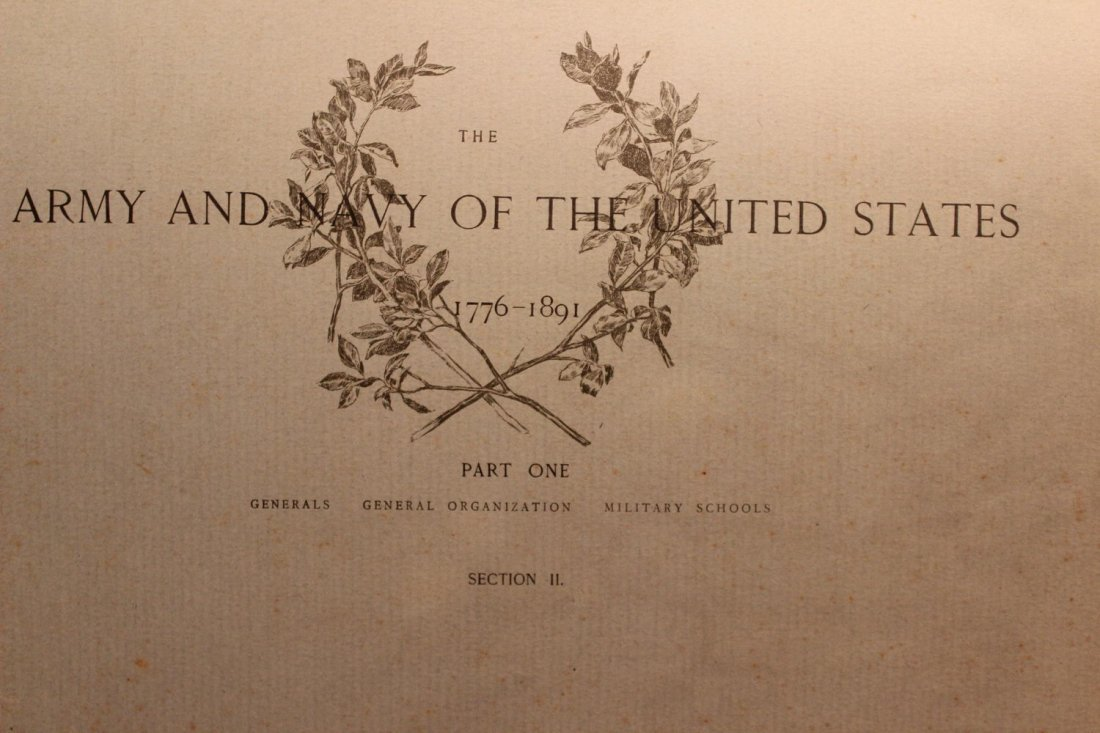 14 SUPER PAGES OF ARMY AND NAVY  DURING CIVIL WAR WITH - 2