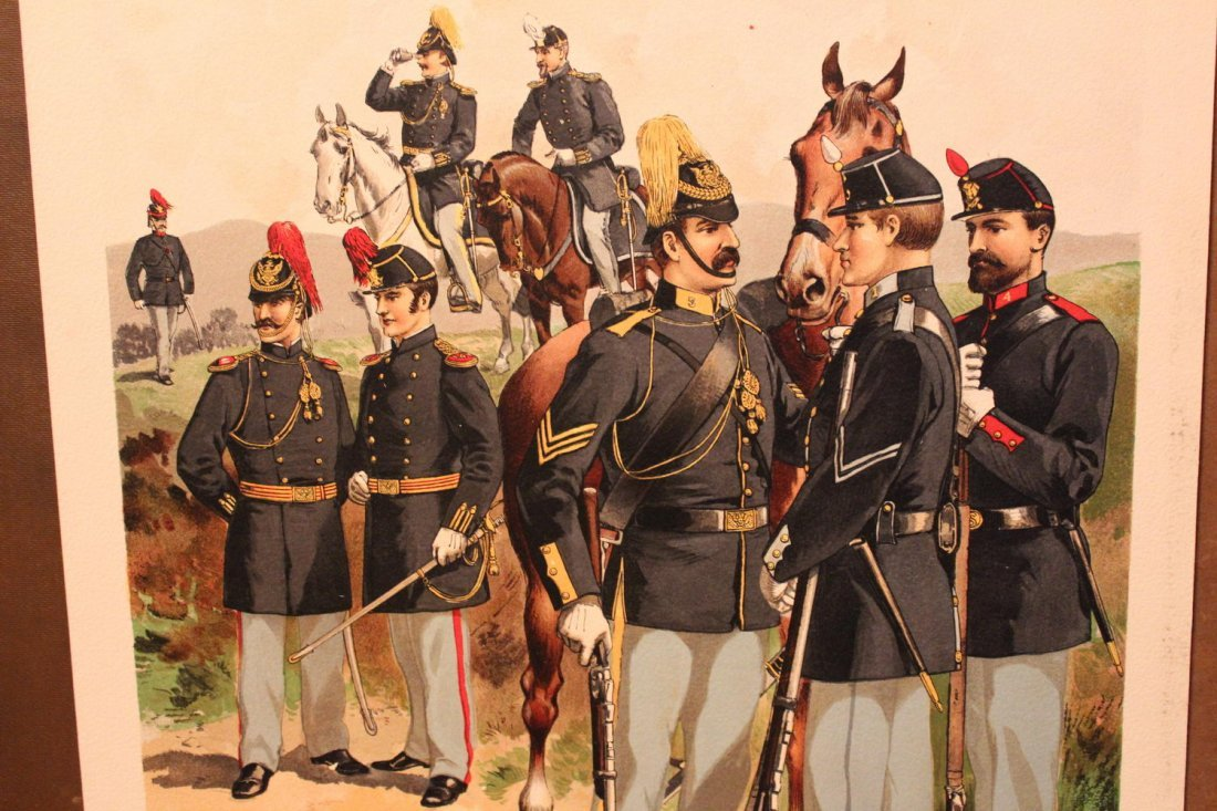 ANOTHER GREAT PORTFOLIO OF 12 AMAZING UNIFORMS OF THE - 3