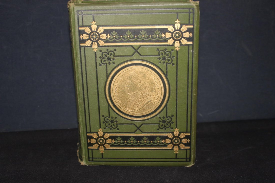 FIRST PRINTING 1877 THE LIVES OF THE POPES WRITTEN BY T - 2