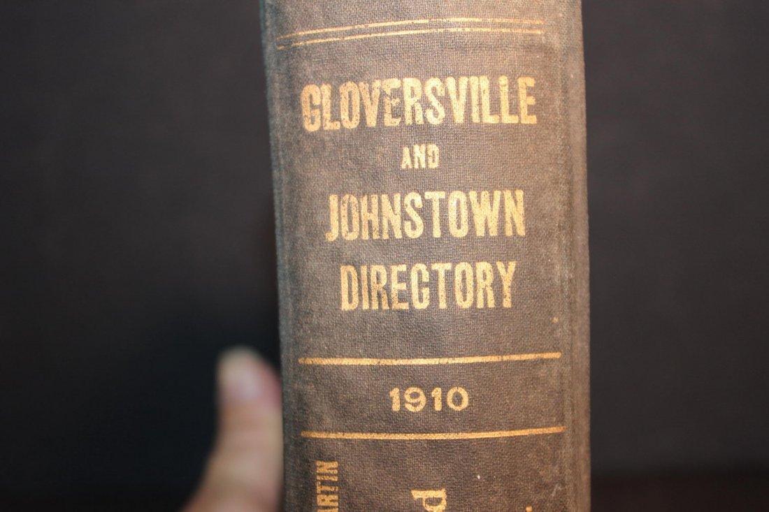 LOCAL INTEREST GREAT BOOK 1910 GLOVERSVILLE AND - 2