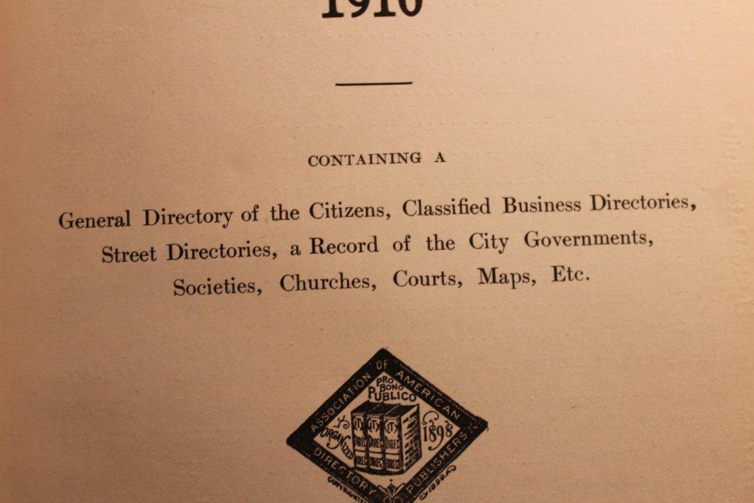 LOCAL INTEREST GREAT BOOK 1910 GLOVERSVILLE AND - 3