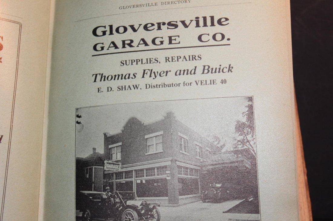 LOCAL INTEREST GREAT BOOK 1910 GLOVERSVILLE AND - 6