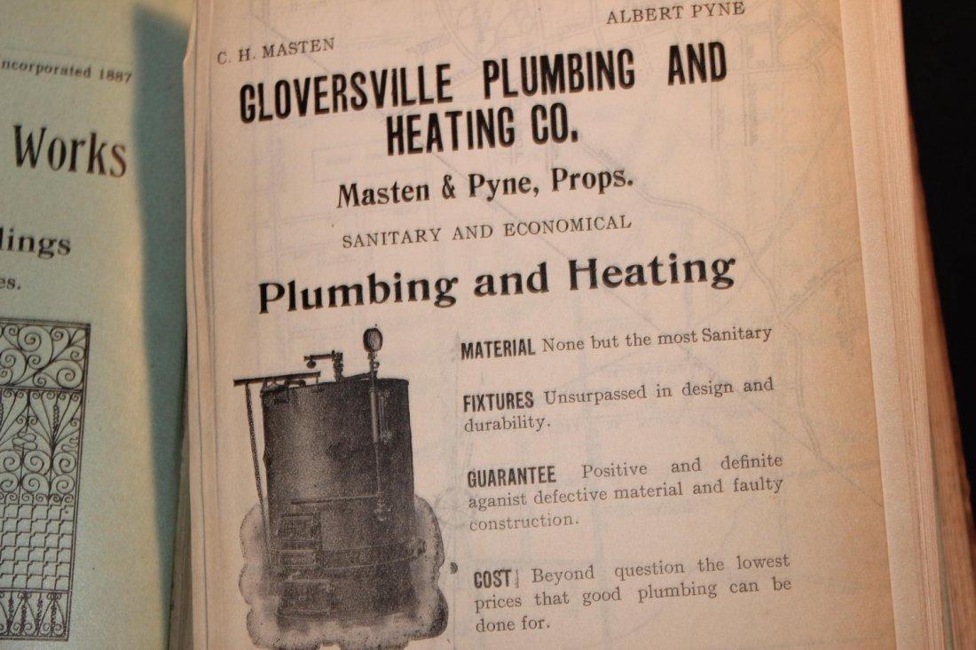LOCAL INTEREST GREAT BOOK 1910 GLOVERSVILLE AND - 7