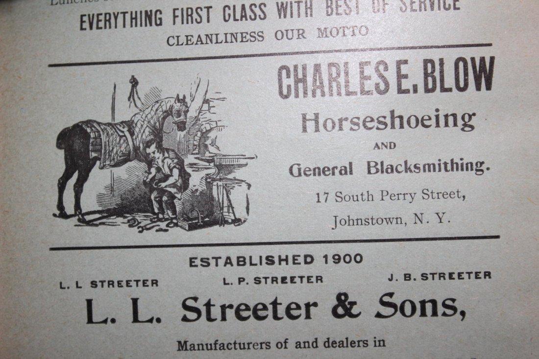 LOCAL INTEREST GREAT BOOK 1910 GLOVERSVILLE AND - 9