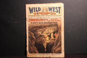 Wild West Weekly Magazine Augusts 1906 Stories Of