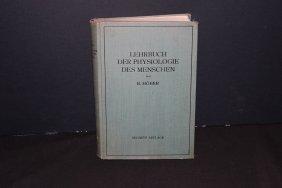 German Book Berlin 1931 - 609 Pages - Lehrbuch Der