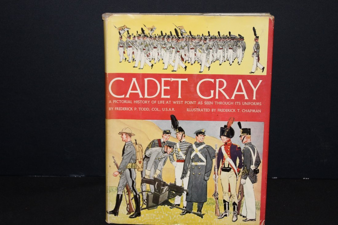 CADET GRAY PICTORIAL STORY OF WEST POINT HISTORY