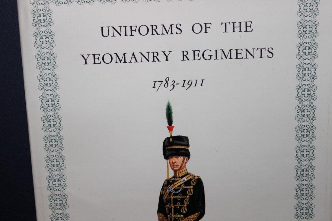 UNIFORMS OF THE YEOMANRY REGIMENTS 1783-1911 1967 HUGH - 2