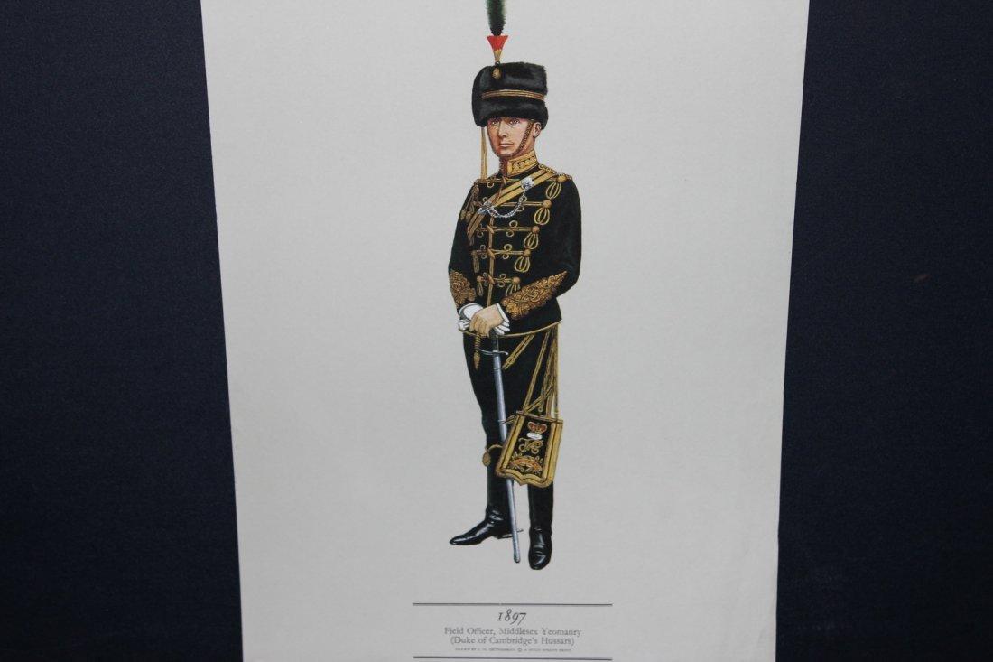 UNIFORMS OF THE YEOMANRY REGIMENTS 1783-1911 1967 HUGH - 6