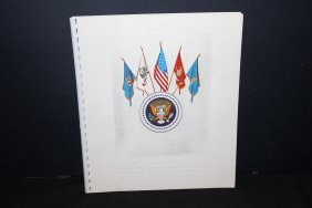 1969 Military Calendar Very Colorful - Exc. Cond