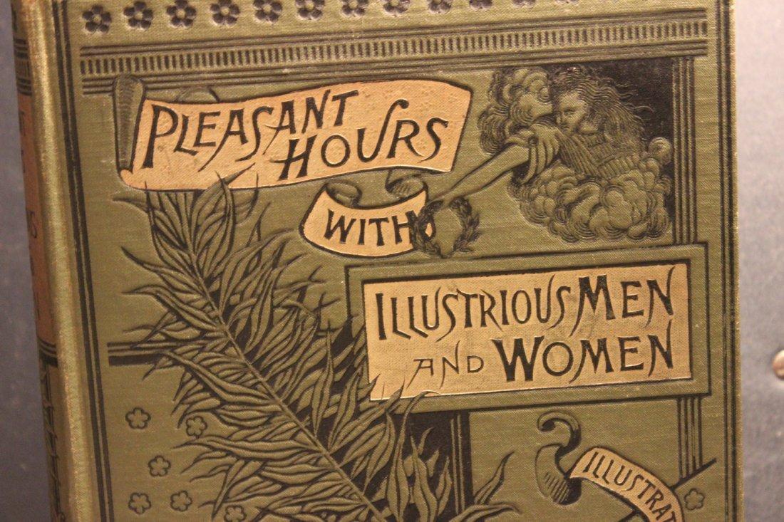 PLEASANT HOURS W/ ILLUSTRIOUS MEN & WOMEN 1885 BY - 2
