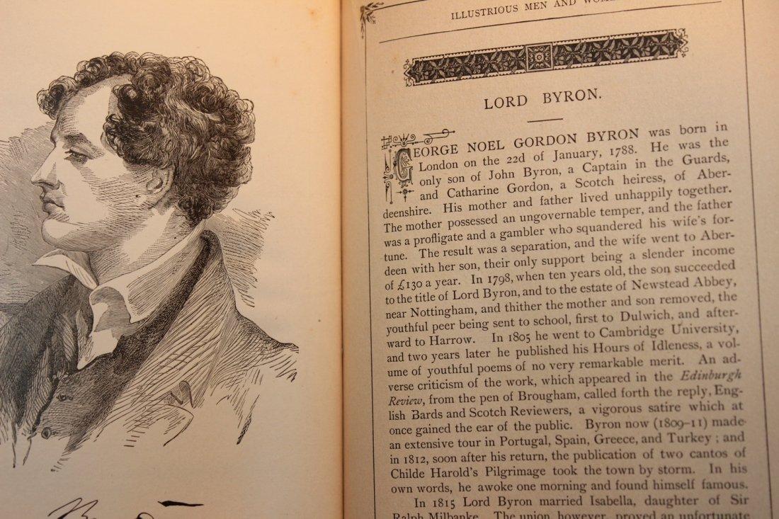 PLEASANT HOURS W/ ILLUSTRIOUS MEN & WOMEN 1885 BY - 5