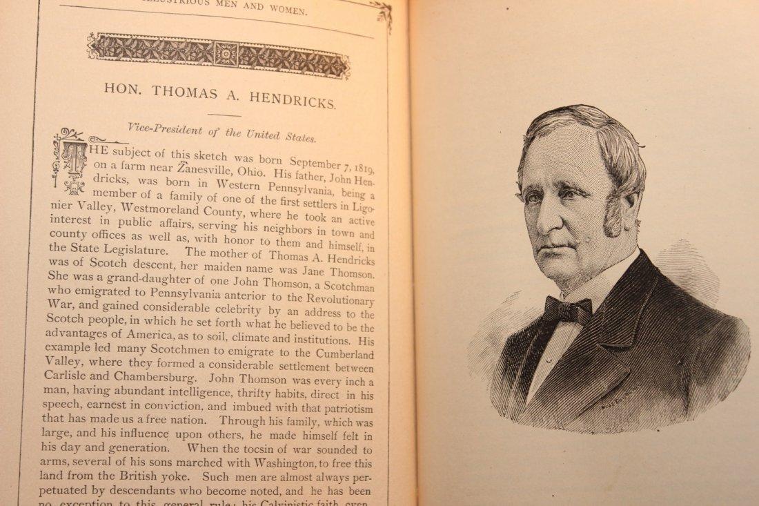 PLEASANT HOURS W/ ILLUSTRIOUS MEN & WOMEN 1885 BY - 6