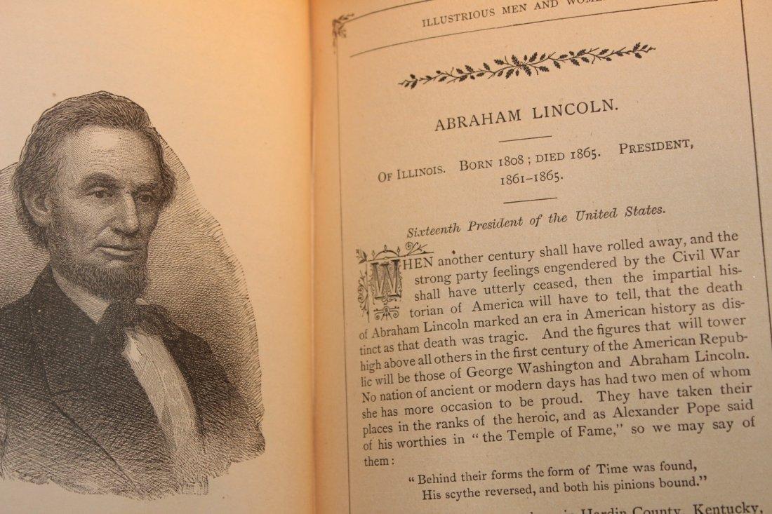 PLEASANT HOURS W/ ILLUSTRIOUS MEN & WOMEN 1885 BY - 8